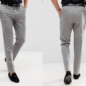 ASOS Menswear grey trousers NWT
